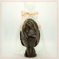 uovo Hodeidah di cioccolato fondente con Fava di cacao e sale rosa